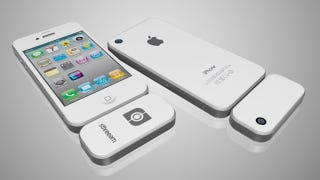 Illustration for article titled A Dongle That Lets You Shoot 3D on Your iPhone