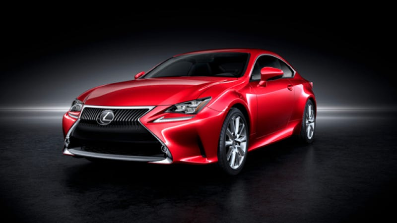 Illustration for article titled 2015 Lexus RC: This Is It
