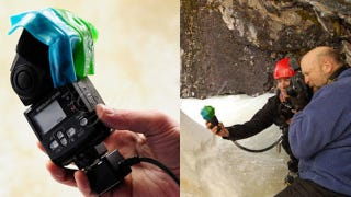 Illustration for article titled Fruit Roll-Ups Make for Great Camera Flash Gels