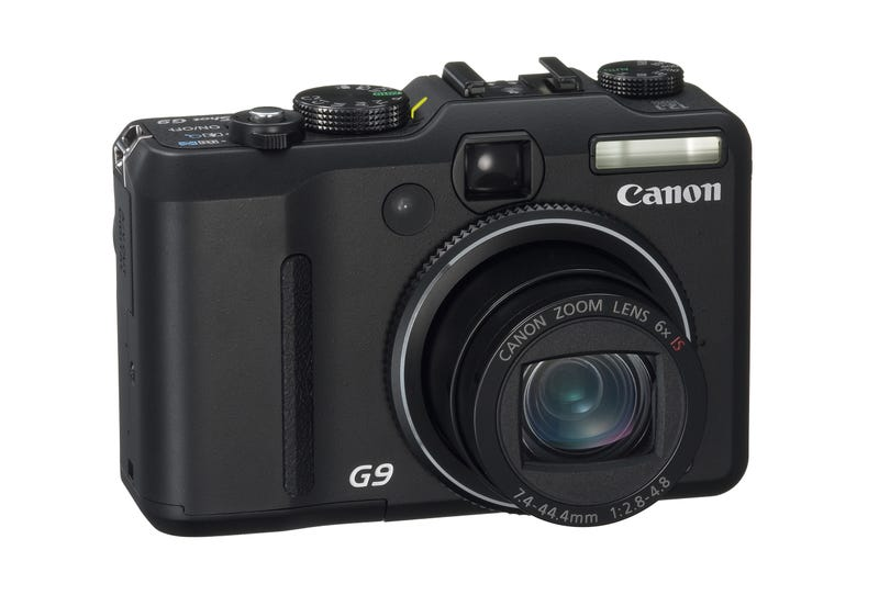 Illustration for article titled Canon Releases PowerShot G9
