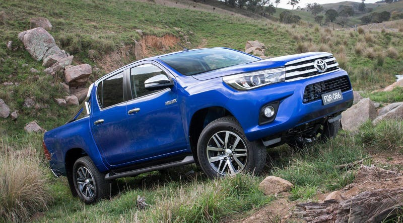 Illustration for article titled 2016 Toyota Hilux: This Is It