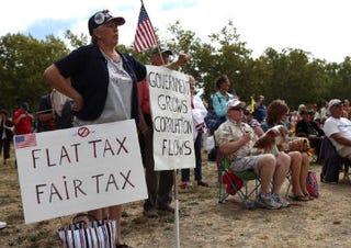 Tea Party rally (Getty Images)