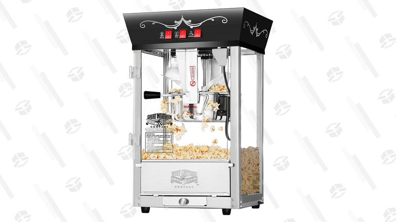 Great Northern Popcorn Black Antique Style Popcorn Popper Machine | $94 | Amazon