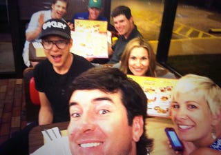 Illustration for article titled Bubba Watson Went To Waffle House To Celebrate His Masters Win