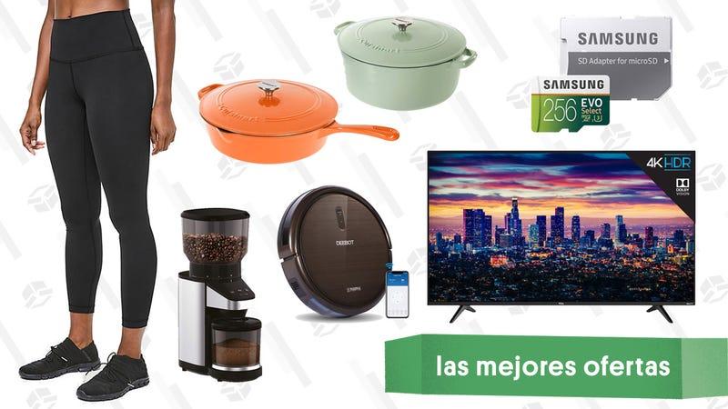 Illustration for article titled Las mejores ofertas de este martes: Ollas de hierro fundido, Leggings de Lululemon, televisores TCL y más