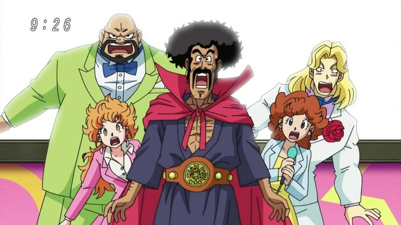 Illustration for article titled Looks Like Mr. Satan Is Going Super Saiyan in Dragon Ball