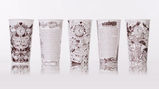 Illustration for article titled Chipotle Classes Up the Joint With Literary Readings on Its Cups