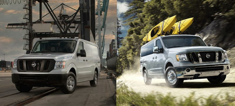 Illustration for article titled 2014 Nissan NV Looks Like A 'Nice Price' For A Capable Cargo Van