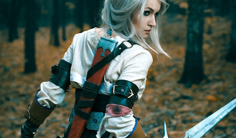 Illustration for article titled The Witcher 3's Ciri, Cosplayed To Perfection