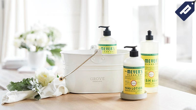 Illustration for article titled Spend $20+ On Grove's All-Natural Home Products & Get a Free Mr. Meyers Soap Set