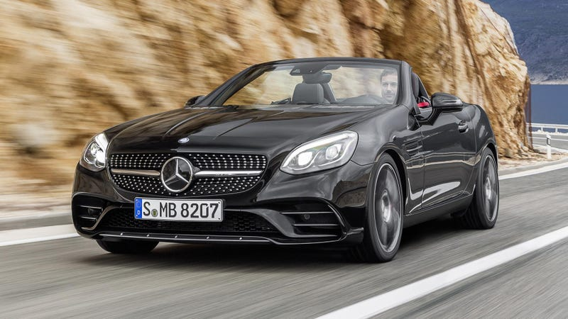 Illustration for article titled The Mercedes-Benz SLC Is Back To Kill Off The SLK In 2017