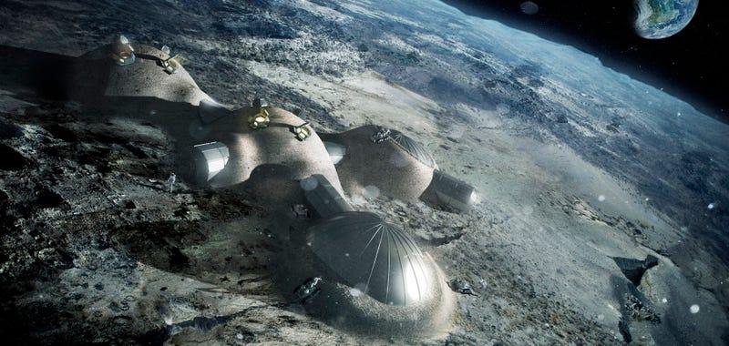 Un estudio de la NASA propone construir una base en la Luna para 2031