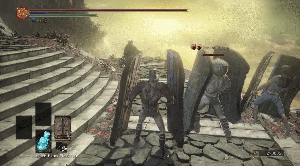 & Dark Souls Trolling Hits New Peak With Giant Door Deaths