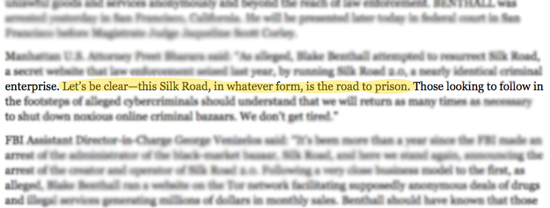 Illustration for article titled The FBI's Silk Road Takedown Notice Is Sassy as Hell