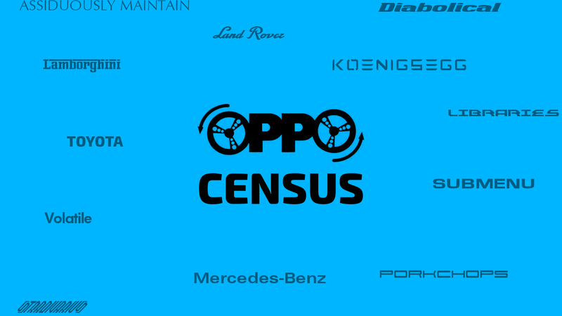 Illustration for article titled Oppo Census Thoughts