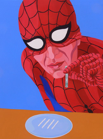 Illustration for article titled Your f'ed-up superheroes update: cokehead Spiderman and incontinent Batman (NSFW)