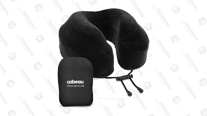 Cabeau Evolution Memory Foam Travel Pillow | $30 | Amazon