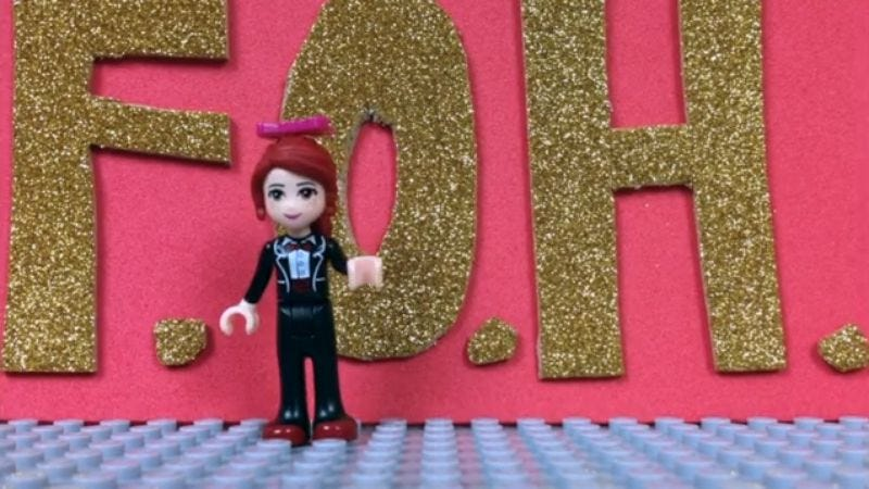 """Illustration for article titled Check out this awesome fan-made Lego video for Superchunk's """"FOH"""""""