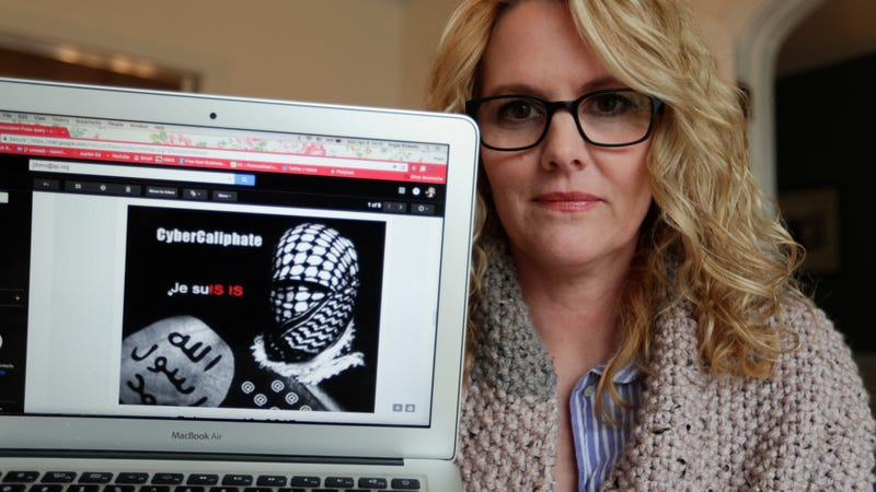 Angela Ricketts was one US Military spouse who was threatened by CyberCaliphate