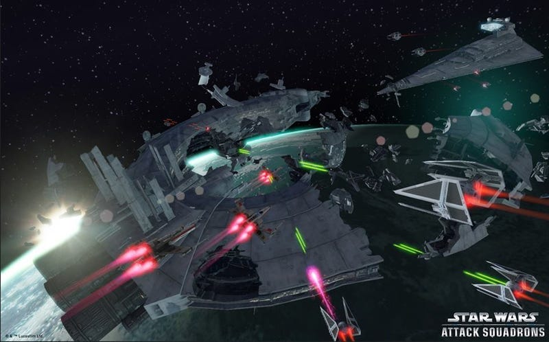 Illustration for article titled New Star Wars Space Combat Game Already Cancelled