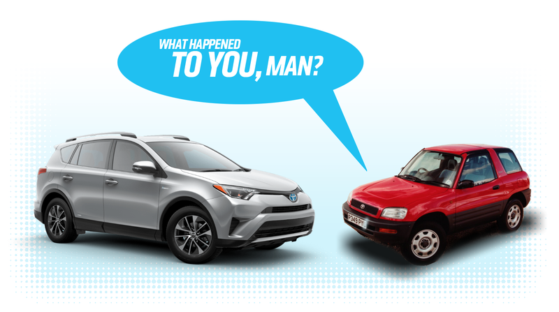 Illustration for article titled The Toyota RAV4 Has Become The Automotive Equivalent Of Selling Out