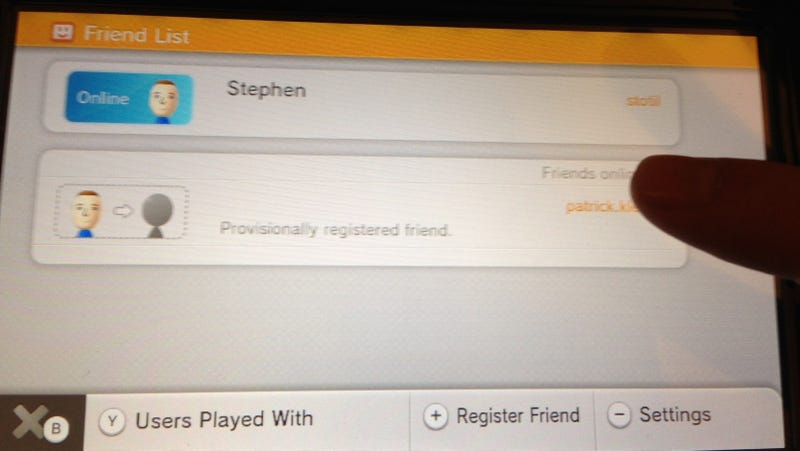 i m adding friends to my wii u and i m not even using friend codes