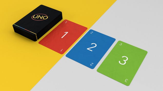 Mattel Turned This Graphic Designer s Minimalist UNO Deck Into a Game You Can Actually Buy