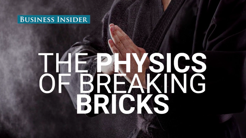 Illustration for article titled A Physics Professor Explains the Science of Smashing Bricks Without Breaking Your Hand