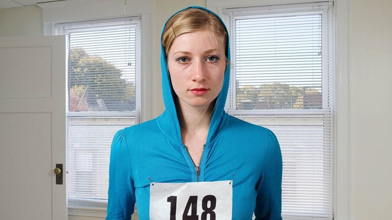Illustration for article titled Woman Had No Idea Participating In 5K Walk Could Be So Unrewarding