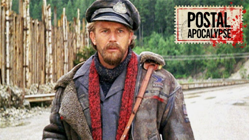 Kevin Costner as the fake mailman of The Postman.