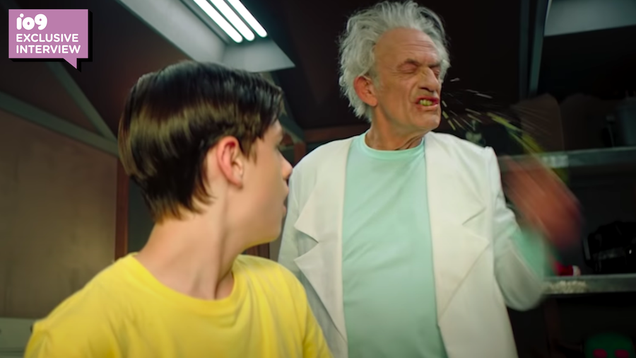 The Live-Action Rick and Morty Director Told Christopher Lloyd to Get  Unhinged
