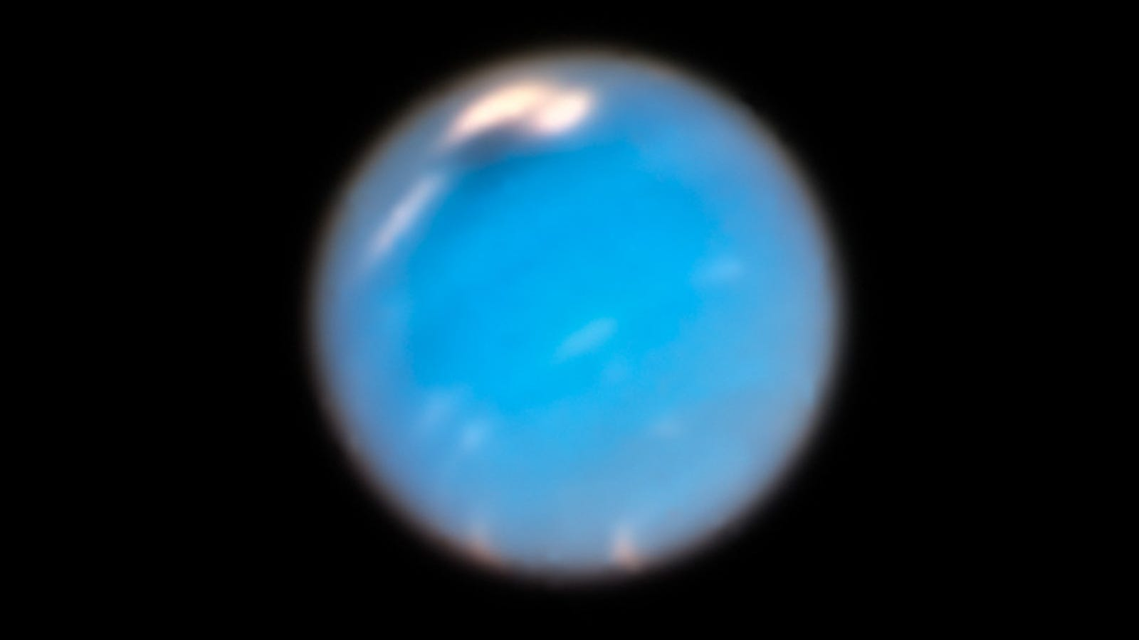 Formation of Dark Vortex on Neptune Captured For the Very First Time - Gizmodo