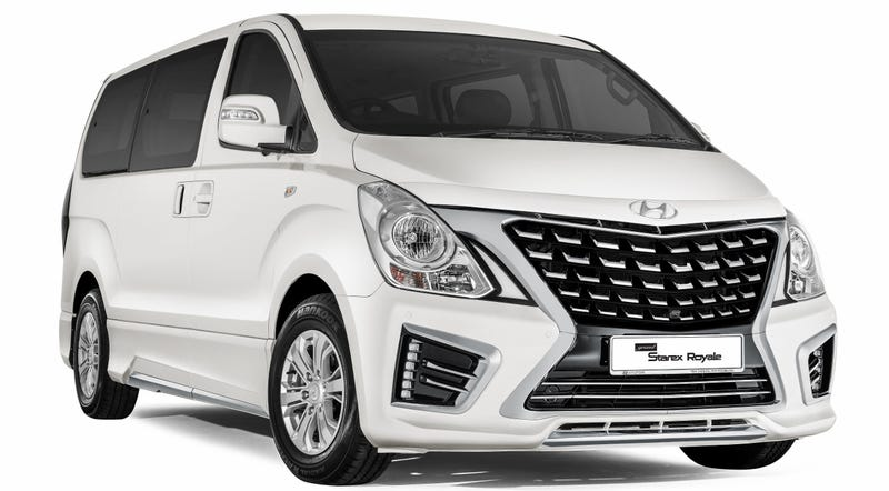 Illustration for article titled 2016 Hyundai Starex Royale: This Is It