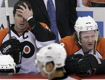 Illustration for article titled Rough Season For The Flyers Naturally Leads To Cuckolding Rumors