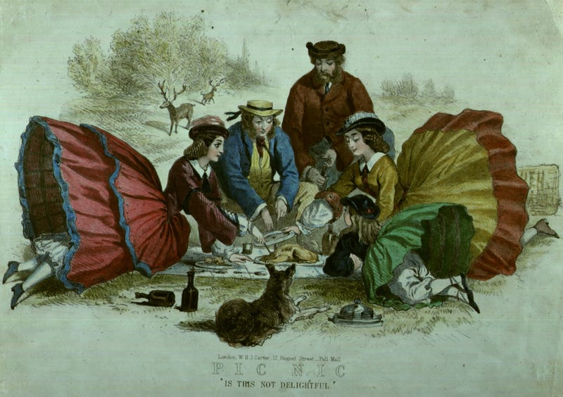 "Illustration for article titled Some people in the 19th century called brunch ""blunch"""