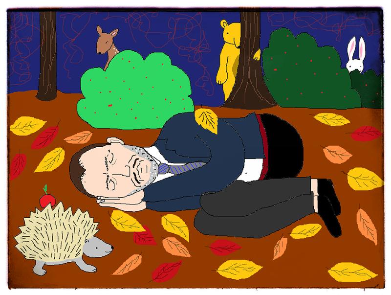 Illustration for article titled Szörnyű szóvicces-lidércnyomásos kép a költészet napja alkalmából