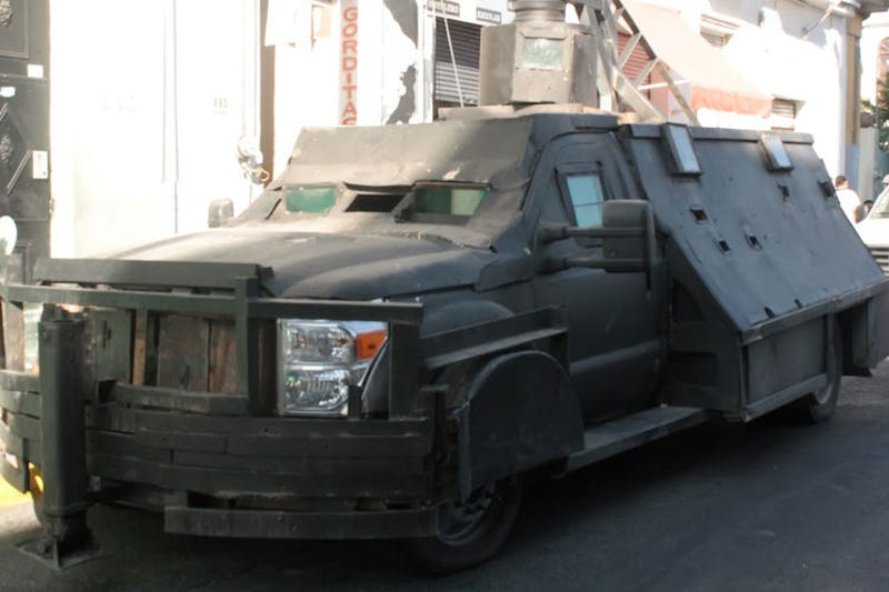 These Homemade Tanks Are Tough Enough To Survive A Zombie Apocalypse - Cool zombie cars
