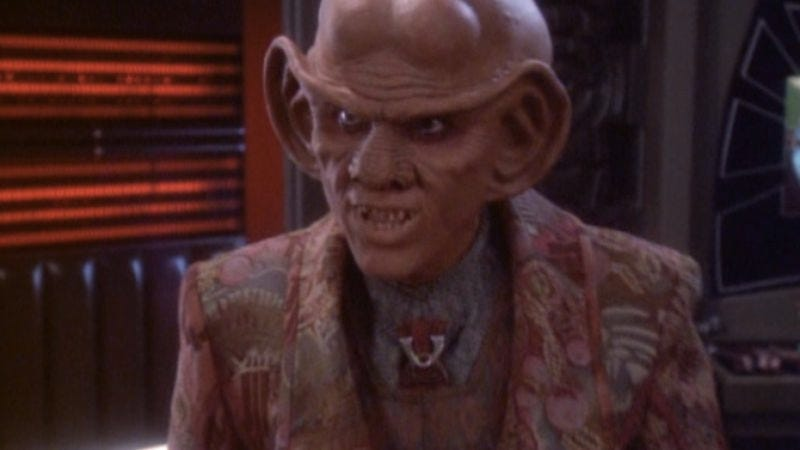 """Illustration for article titled Star Trek: Deep Space Nine: """"Statistical Probabilities""""/""""The Magnificent Ferengi"""""""