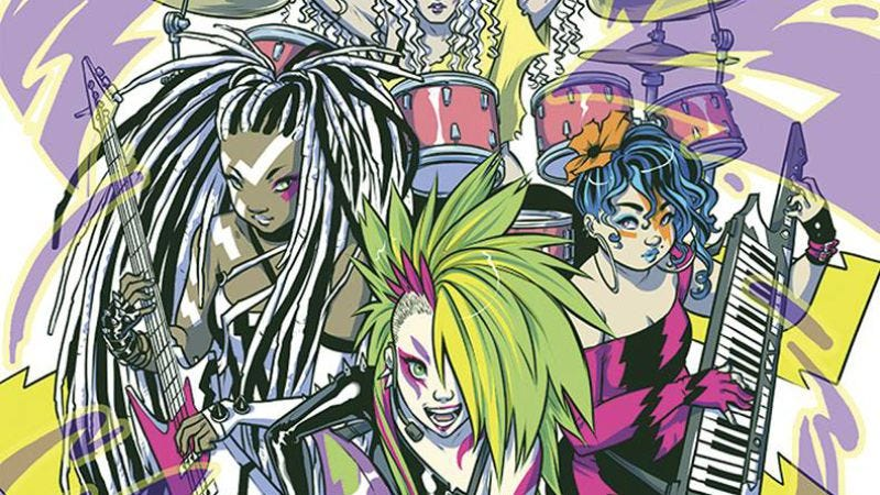 Illustration for article titled The magic is back in Jem, while lameness shines in Regrettable Superheroes