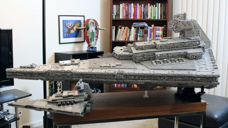 Custom Lego Star Destroyer Is So Huge It Has A Three Level Interior