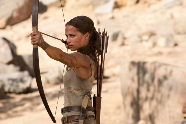 Tomb Raider s Alicia Vikander Has an Update About the Movie Sequel