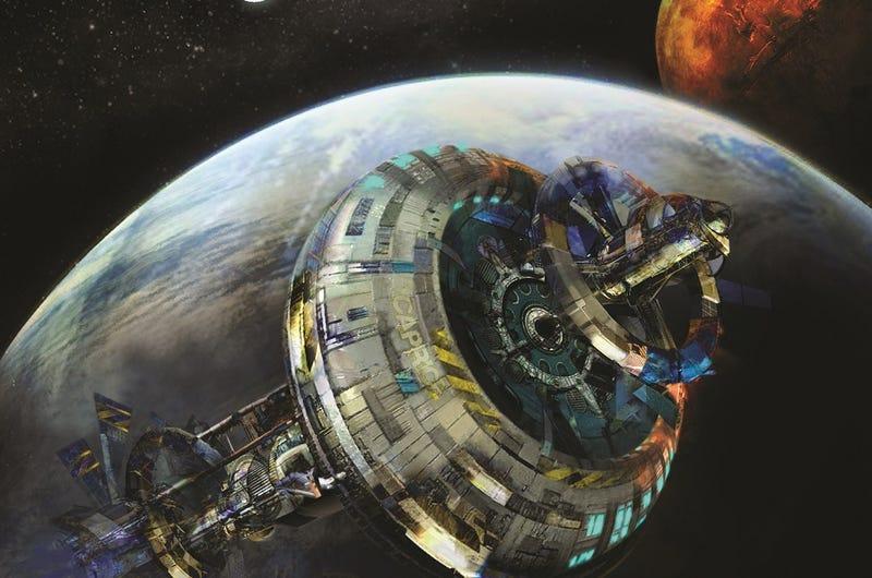 Ghouane - Estação espacial livre. Tina0tq5iqhozszphshv