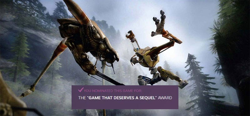 Illustration for article titled Sorry, Steam Award Nominations Don't Involve Half-Life 3