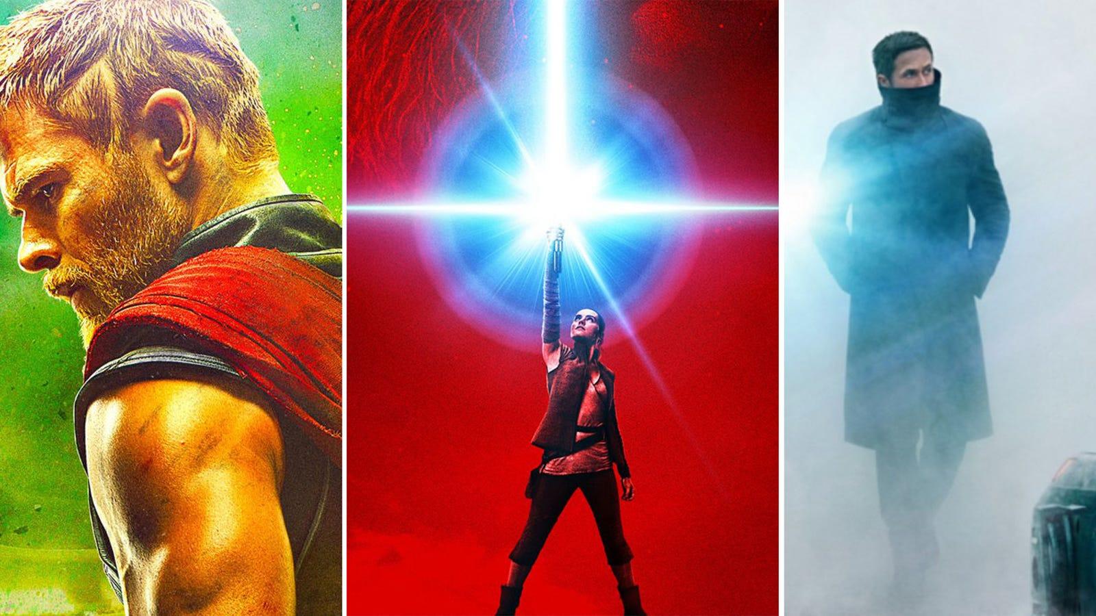 Las 15 películas de ciencia ficción y fantasía que no te puedes perder en lo que queda de año