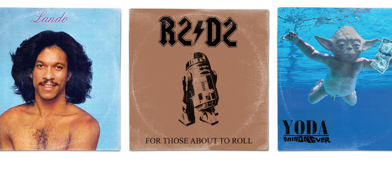 Illustration for article titled Which of These Albums Reimagined with Star Wars Characters Is Your Favorite?