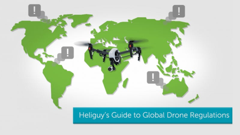 Illustration for article titled Research the Drone Flight Laws In Your Country With This Guide