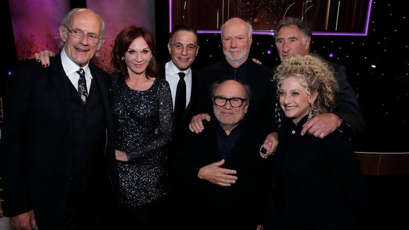 Christopher Lloyd, Marilu Henner, Tony Danza, James Burrows, Danny DeVito, Judd Hirsch, Carol Kane (NBC)