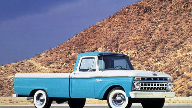 Craigslist love the joys of the 1965 ford f 100 for Garage ford romans