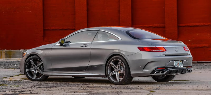 The USSpec 2015 Mercedes S63 AMG Coupe Has Just 577 HP