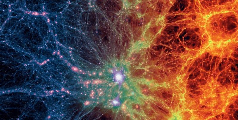 Illustration for article titled La simulación del universo más detallada que has visto hasta ahora